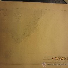 Mapas contemporáneos: CARTA NAUTICA DESDE CABO BLANCO HASTA PUNTA AMER, MALLORCA, GOMEZ IMAZ, 1894. Lote 35580977