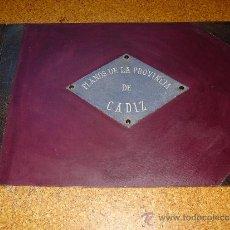 Mapas contemporáneos: 1917 MAGNIFICA CARPETA 70X50 CMS CON LOS MAPAS HISTORICOS 1:50000 DE LA PROVINCIA DE CADIZ. Lote 35754557