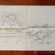 Mapas contemporáneos: GUERRA DE AFRICA. NORTE DE MARRUECOS. MAPA DE LA ZONA DE INFLUENCIA ESPAÑOLA. MEMORIAL DE INFANTERIA. Lote 36362871