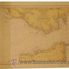 Mapas contemporáneos: MAPA DEL ESTRECHO DE GIBRALTAR. 61X44. LITOGRAFIA. 1961. Lote 36416722