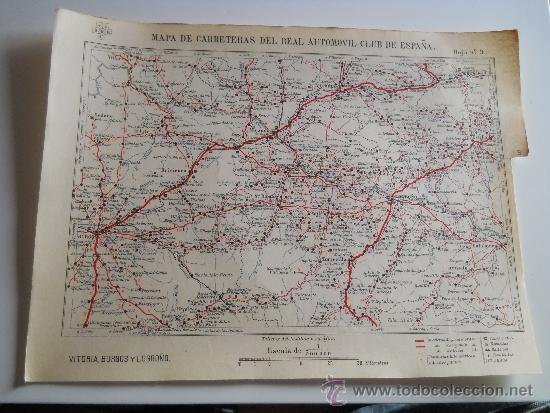 Mapa Entelado De Espana Hoja Nº 9 R A C E Map Comprar Mapas