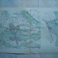 Mapas contemporáneos: STOCKHOLM ET LILLA-VARTAN-ESTOCOLMO-SUECIA-BECQUET-MAPA 33X49 CM-ATLAS PORTS ETRANGERS-1884-1ª EDIC.. Lote 37019079