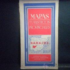 Mapas contemporáneos: BADAJOZ. MAPAS TURISTICOS PROVINCIALES - AÑO 1959. Lote 37166598