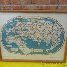 Mapas contemporáneos: CUADRO LAMINA DE MAPA. Lote 37201543