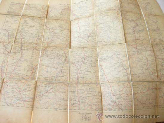 Mapas contemporáneos: MAPA MILITAR ITINERARIO DE ESPAÑA - HOJA 14 - DESPLEGABLE - Foto 2 - 37499725