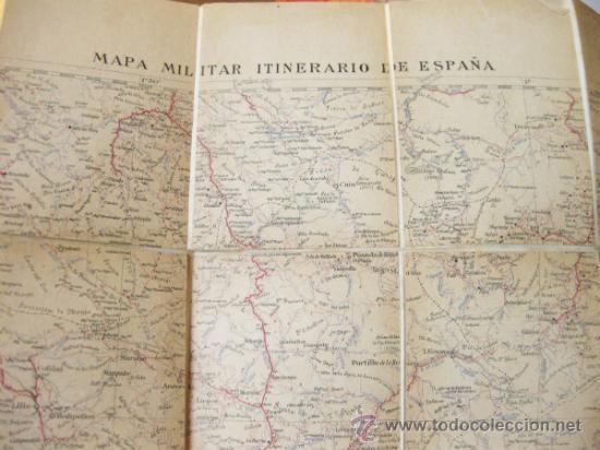 Mapas contemporáneos: MAPA MILITAR ITINERARIO DE ESPAÑA - HOJA 14 - DESPLEGABLE - Foto 3 - 37499725