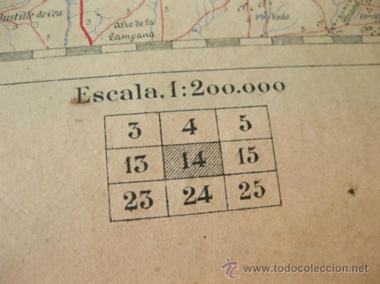 Mapas contemporáneos: MAPA MILITAR ITINERARIO DE ESPAÑA - HOJA 14 - DESPLEGABLE - Foto 8 - 37499725