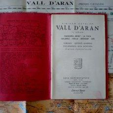 Mapas contemporáneos: GUÍA CARTOGRÁFICA, VALL D'ARAN (L'ARAN). VAQUEIRA-BERET-LA TUCA-SALARDÚ-VIELLA-BOSSOST-LÈS. ALPINA.. Lote 37513203