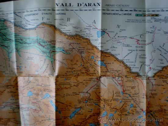 Mapas contemporáneos: GUÍA CARTOGRÁFICA, VALL D'ARAN (L'ARAN). VAQUEIRA-BERET-LA TUCA-SALARDÚ-VIELLA-BOSSOST-LÈS. ALPINA. - Foto 2 - 37513203
