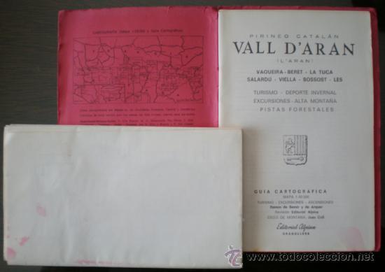 Mapas contemporáneos: GUÍA CARTOGRÁFICA, VALL D'ARAN (L'ARAN). VAQUEIRA-BERET-LA TUCA-SALARDÚ-VIELLA-BOSSOST-LÈS. ALPINA. - Foto 3 - 37513203