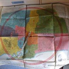 Mapas contemporáneos: PLANO INDICADOR DE LA CIUDAD DE BARCELONA 1ª EDICION DE 1929. Lote 38688600