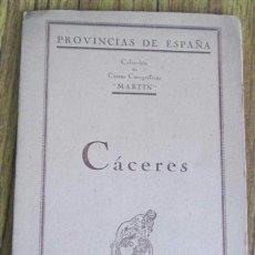 Mapas contemporáneos: MAPA ENTELADO CACERES PROVINCIA - EDT MARTÍN. Lote 38908489