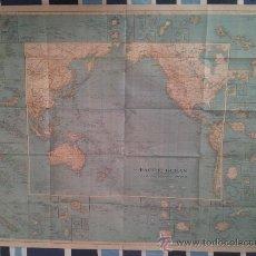 Mapas contemporáneos: MAPA DEL OCÉANO PACÍFICO 1936. Lote 39032317