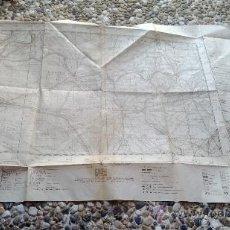 Mapas contemporáneos: MAPA CARTOGRAFIA MILITAR DE ESPAÑA LAGUNA DUERO. Lote 39151614