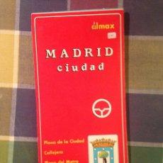 Mapas contemporáneos: MAPA PLANO DE MADRID.EDITORES ALMAX.. Lote 39930174