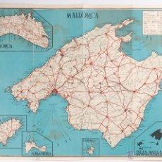 Mapas contemporáneos: MAPA ISLAS BALEARES. Lote 39971852