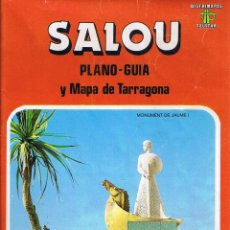 Mapas contemporáneos - SALOU - PLANO GUIA - MAPA DE TARRAGONA - 40619457