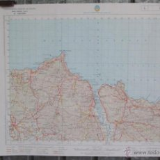 Mapas contemporáneos: BERMEO - 1993 - MAPA DE LA CARTOGRAFIA MILITAR DE ESPAÑA 1:50000 SERIE L -. Lote 40757509