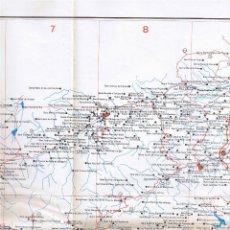 Mapas contemporáneos: MAPA ESGLÉSIES ROMÀNIQUES CATALANES - . Lote 40846247