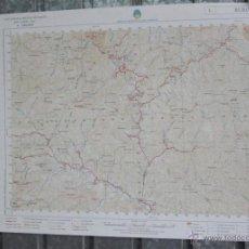 Mapas contemporáneos: BURÓN 1984 - MAPA DE LA CARTOGRAFIA MILITAR DE ESPAÑA 1:50000 SERIE L. Lote 40899177