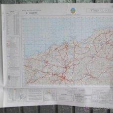 Mapas contemporáneos: TORRELAVEGA 1979 - MAPA DE LA CARTOGRAFIA MILITAR DE ESPAÑA 1:50000 SERIE L. Lote 40899899