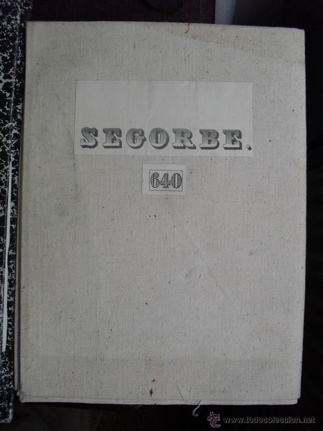 MAPA MILITAR DE SEGORBE AÑOS 50 (Coleccionismo - Mapas - Mapas actuales (desde siglo XIX))