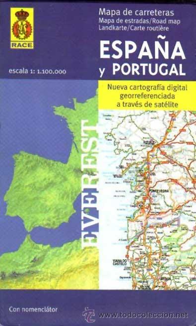 2001 Turismo Mapa Carreteras Espana Portugal Ed Comprar Mapas