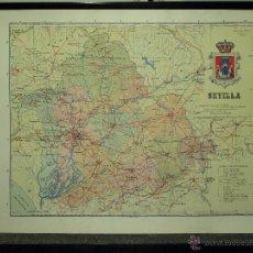 Mapas contemporáneos: MAPA DE SEVILLA, PRINCIPIOS S. XX . Lote 41281604