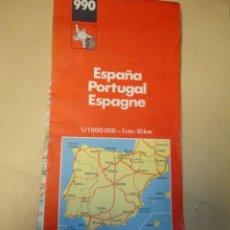 Mapas contemporáneos - MAPA CARRETERAS MICHELIN ESPAÑA PORTUGAL NUMERO 990 - 41296688