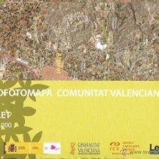 Mapas contemporáneos: +-+ O01 - ORTOFOTOMAPA COMUNITAT VALENCIANA - E: 1 / 50.000 - CARLET. Lote 41475957