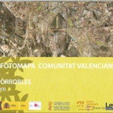Mapas contemporáneos: +-+ O08 - ORTOFOTOMAPA COMUNITAT VALENCIANA - E: 1 / 50.000 - CAMPORROBLES. Lote 41478818