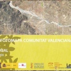 Mapas contemporáneos: +-+ O09 - ORTOFOTOMAPA COMUNITAT VALENCIANA - E: 1 / 50.000 - VILA-REAL. Lote 41478820