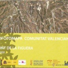 Mapas contemporáneos: +-+ O12 - ORTOFOTOMAPA COMUNITAT VALENCIANA - E: 1 / 50.000 - LA FONT DE LA FIGUERA. Lote 41478829