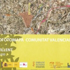 Mapas contemporáneos: +-+ O15 - ORTOFOTOMAPA COMUNITAT VALENCIANA - E: 1 / 50.000 - CREVILLENT. Lote 41478840
