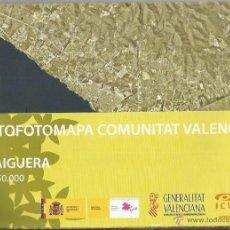 Mapas contemporáneos: +-+ O19 - ORTOFOTOMAPA COMUNITAT VALENCIANA - E: 1 / 50.000 - TRAIGUERA. Lote 41478859