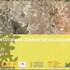 Mapas contemporáneos: +-+ O21 - ORTOFOTOMAPA COMUNITAT VALENCIANA - E: 1 / 50.000 - ELDA . Lote 41478863