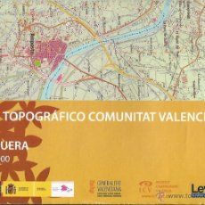 Mapas contemporáneos: +-+ O26 - MAPA TOPOGRAFICO COMUNITAT VALENCIANA - E: 1 / 50.000 - TRAIGUERA. Lote 41478889