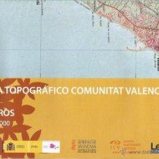 Mapas contemporáneos: +-+ O28 - MAPA TOPOGRAFICO COMUNITAT VALENCIANA - E: 1 / 50.000 - VINAROS. Lote 41478897