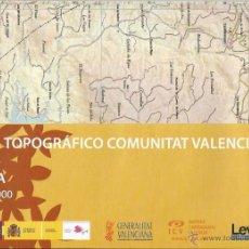 Mapas contemporáneos: +-+ O39 - MAPA TOPOGRAFICO COMUNITAT VALENCIANA - E: 1 / 50.000 - AYORA. Lote 41478938