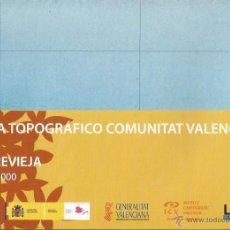 Mapas contemporáneos: +-+ O41 - MAPA TOPOGRAFICO COMUNITAT VALENCIANA - E: 1 / 50.000 - TORREVIEJA. Lote 41478952