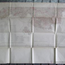 Mapas contemporáneos: MAPA PARTE SUR DE VIZCAYA - 1929 - TALLERES INSTITUTO GRÁFICO Y CATASTRAL – DIPUTACIÓN DE VIZCAYA. Lote 195142661