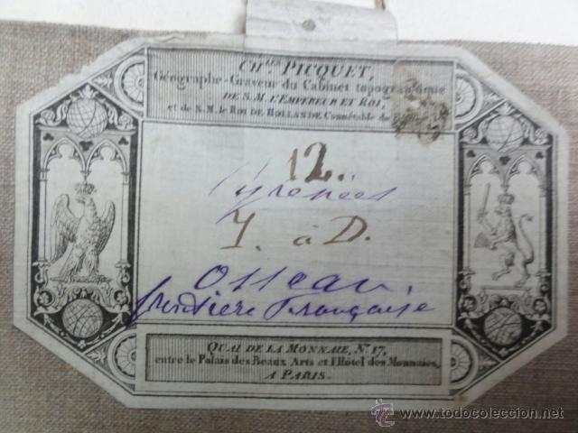 MAPA PIRINEOS FRANCESES PRINCIPIOS XIX (Coleccionismo - Mapas - Mapas actuales (desde siglo XIX))