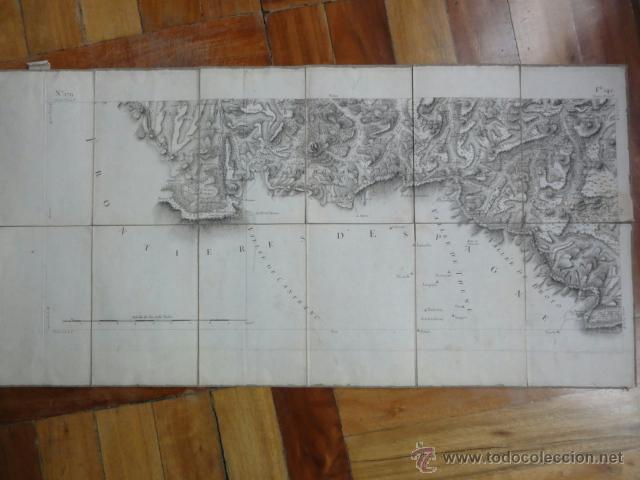 Mapas contemporáneos: Mapa pirineos franceses principios XIX - Foto 2 - 41561221