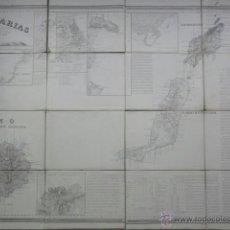Mappe contemporanee: MAPA CANARIAS COELLO. Lote 41578498