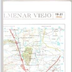 Mapas contemporáneos: MAPA MILITAR DE ESPAÑA E. 1: 50.000 COLMENAR VIEJO 2ª EDICIÓN 1980 . Lote 42128310