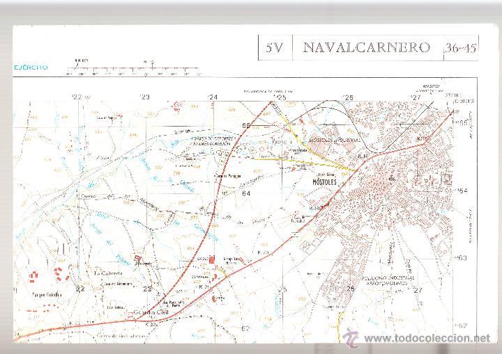 NAVALCARNERO CARTOGRAFÍA MILITAR DE ESPAÑA E. 1: 25.000 1ª EDICIÓN AÑO 1979 (Coleccionismo - Mapas - Mapas actuales (desde siglo XIX))