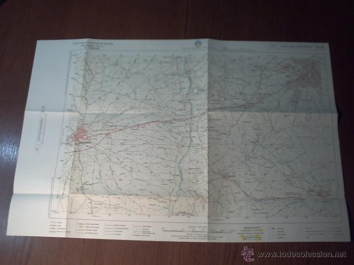 Mapas contemporáneos: NAVALCARNERO CARTOGRAFÍA MILITAR DE ESPAÑA E. 1: 25.000 1ª EDICIÓN AÑO 1979 - Foto 2 - 42129772