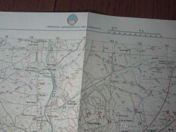 Mapas contemporáneos: NAVALCARNERO CARTOGRAFÍA MILITAR DE ESPAÑA E. 1: 25.000 1ª EDICIÓN AÑO 1979 - Foto 3 - 42129772