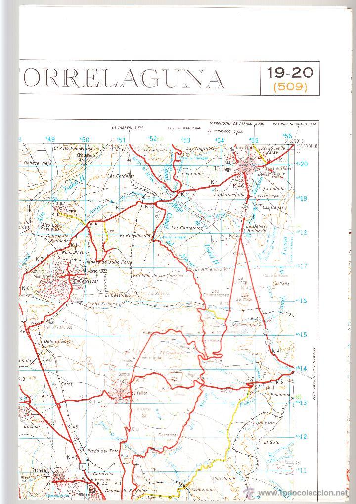TORRELAGUNA SERVICIO GEOGRÁFICO DEL EJÉRCITO E.1: 50.000 3ª EDICIÓN 1982 (Coleccionismo - Mapas - Mapas actuales (desde siglo XIX))
