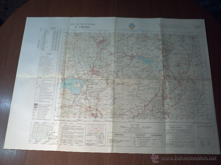 Mapas contemporáneos: TORRELAGUNA SERVICIO GEOGRÁFICO DEL EJÉRCITO E.1: 50.000 3ª EDICIÓN 1982 - Foto 2 - 42133415